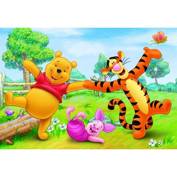 Puzzle Distractie cu Winnie the Pooh, 24 pcs.