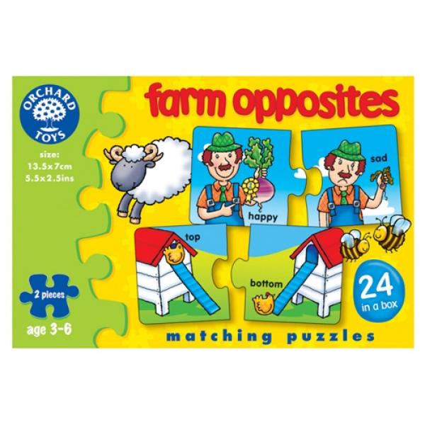 Puzzle Farm Opposites