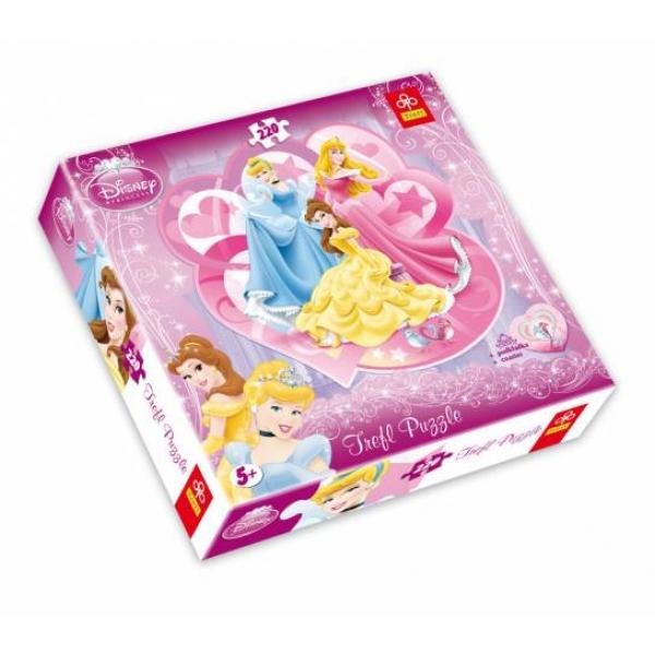 Puzzle forma speciala Princess, 220 piese