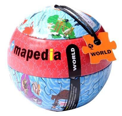 Puzzle glob,Lumea