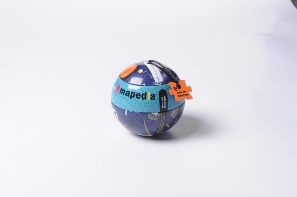 Puzzle glob,Sistemul Solar