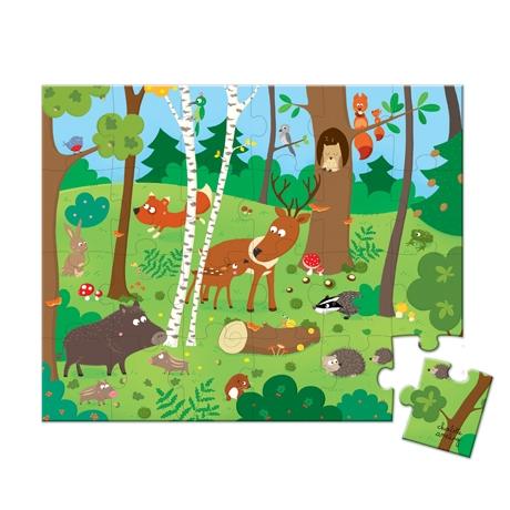 Puzzle In padure,24 piese