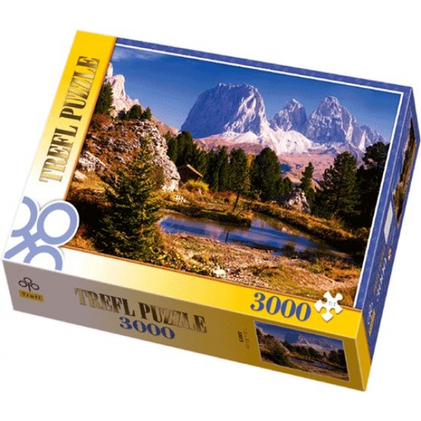 Puzzle Lac in Dolomiti, 3000 piese