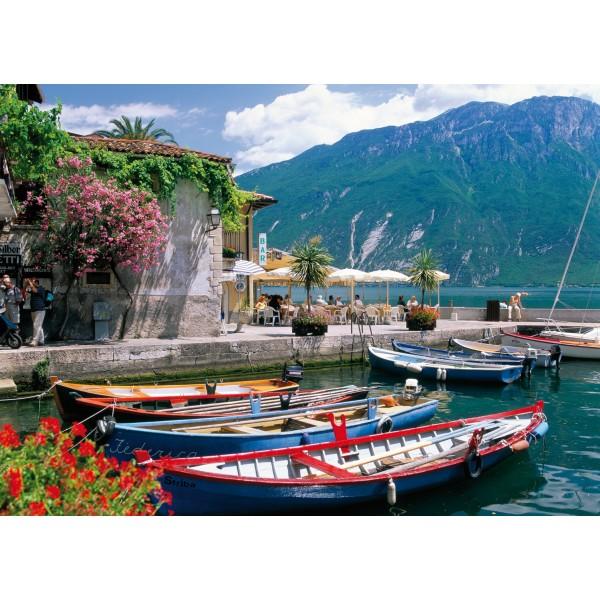 Puzzle Lacul Garda Italia, 1000 piese