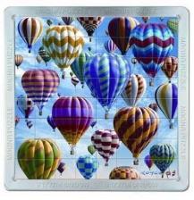 Puzzle magnetic 3D Baloane cu aer cald