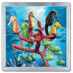Puzzle magnetic 3D Calutii de mare