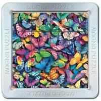Puzzle magnetic 3D Fluturi