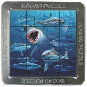 Puzzle magnetic 3D Puii de rechini