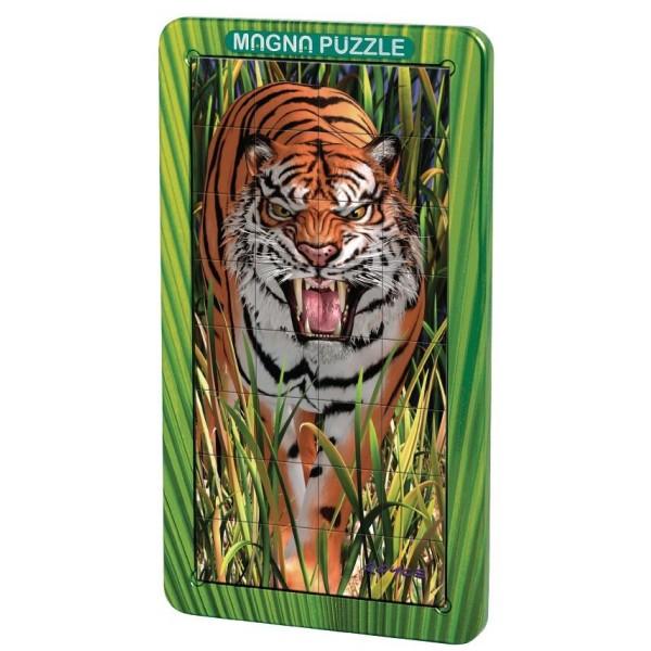 Puzzle magnetic 3D Tigri
