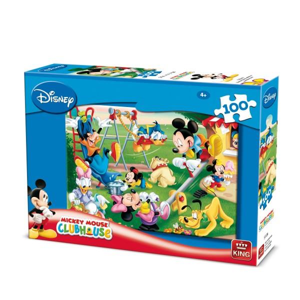 Puzzle Mickey, 100 pcs. (2 mod.asort.)