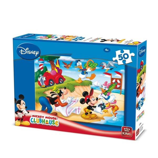 Puzzle Mickey si prietenii,50 pcs.2 mod.