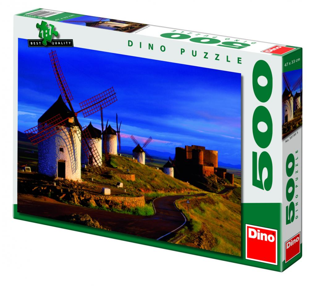 Puzzle Mori de vant, 500 piese