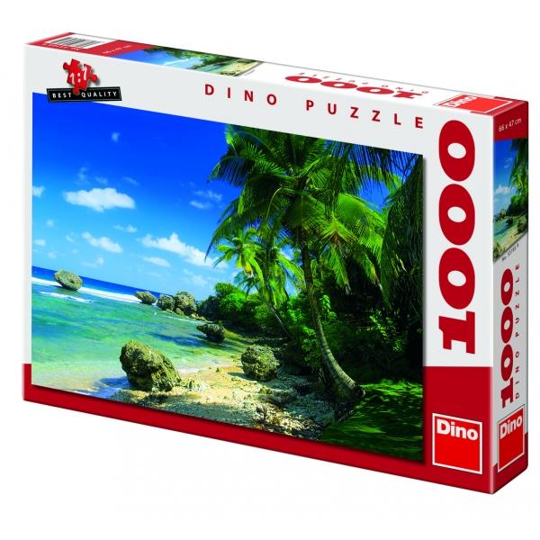 Puzzle Palmieri pe plaja, 1000 piese