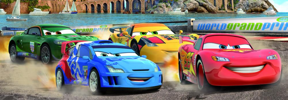 Puzzle panoramic Cars 2, 150 pcs