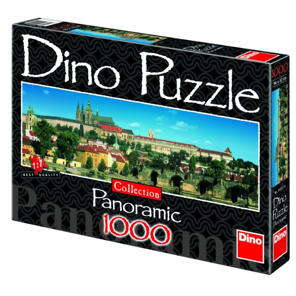 Puzzle panoramic - Castelul din Praga, 1000 piese