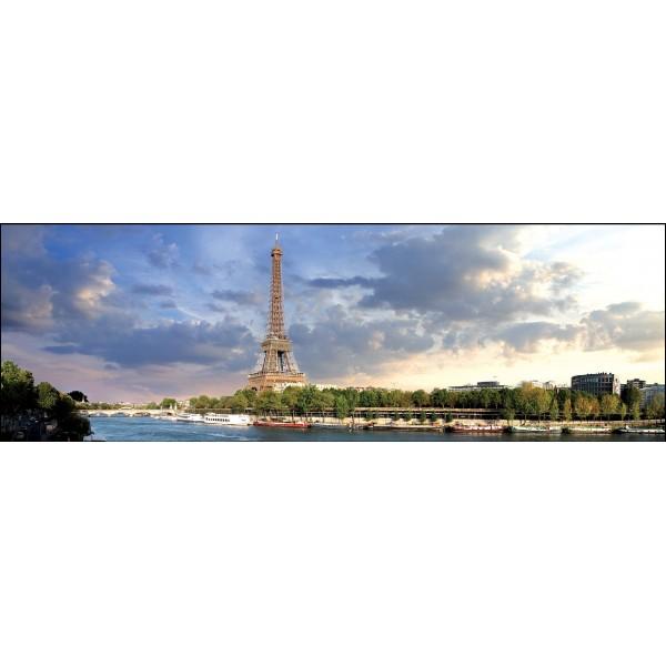 Puzzle panoramic Paris, 1000 piese