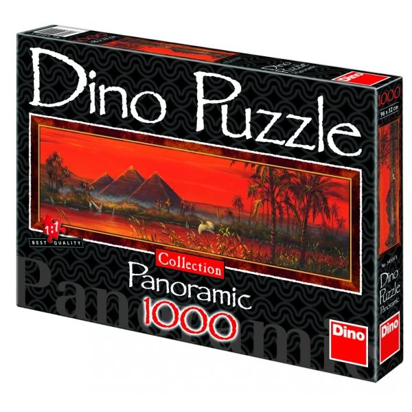 Puzzle panoramic - Piramidele, 1000 piese