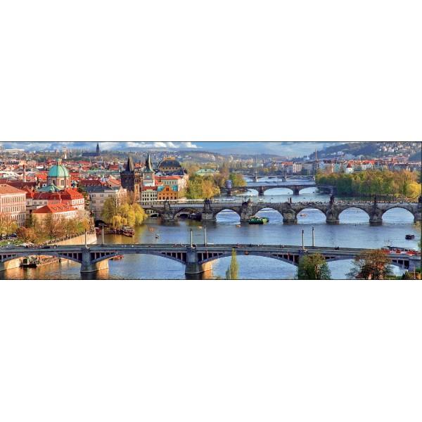 Puzzle panoramic Praga, 1000 piese