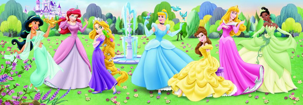Puzzle panoramic Princess, 150 pcs