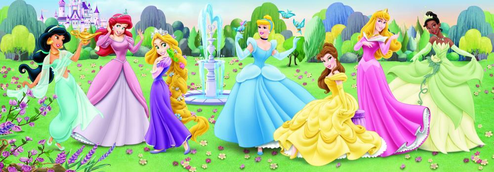 Puzzle panoramic Princess, 150 pcs