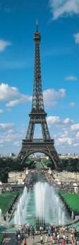 Puzzle panoramic Turnul Eiffel,1000 pcs.
