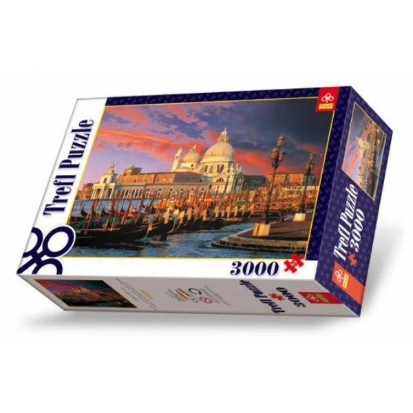 Puzzle Peisaj din Venetia, 3000 pcs.
