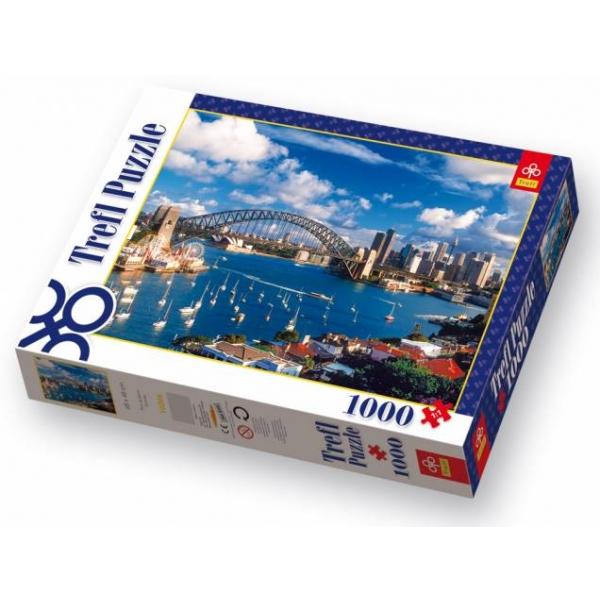 Puzzle Portul Jackson din Sydney, 1000 piese