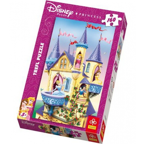 Puzzle Princess-Palatul printeselor, 160 pcs.
