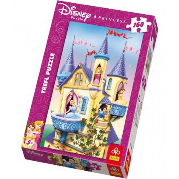 Puzzle Princess-Palatul printeselor, 160 pcs.