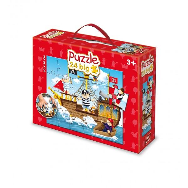 Puzzle ptr podea Pirati, 24 pcs.