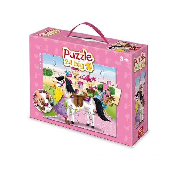 Puzzle ptr podea Printese, 24 pcs.