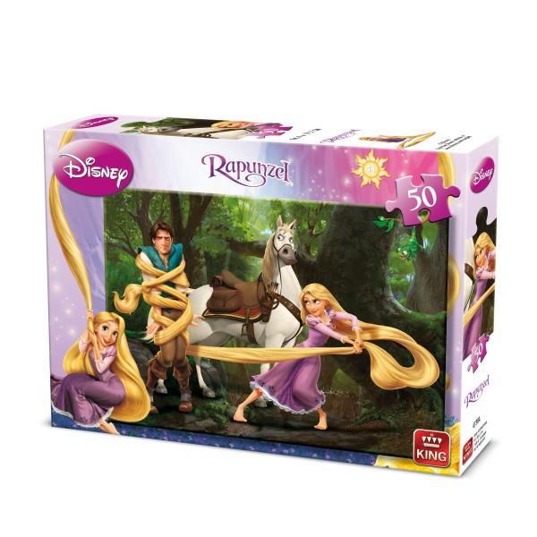 Puzzle Rapunzel, 50 pcs. (2 mod.asort.)