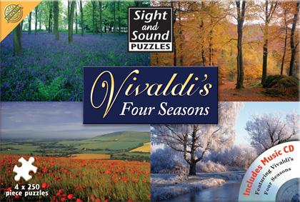 Puzzle si CD Sight & Sound Vivaldi