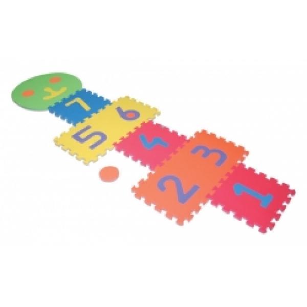 Puzzle, sotron colorat