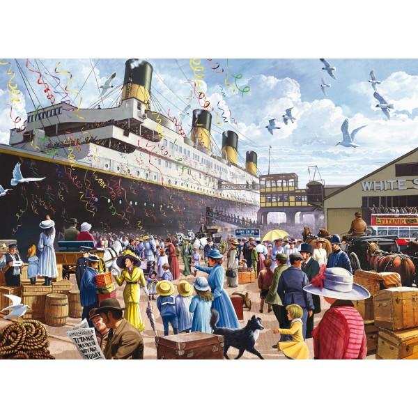 Puzzle Titanic, 1000 pcs.