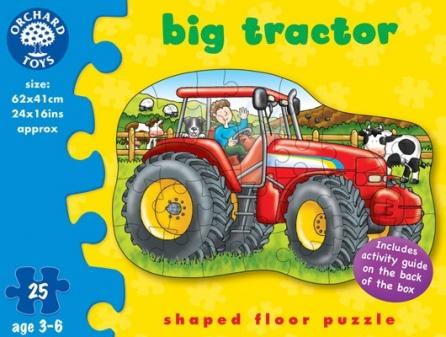 Puzzle Tractorul cel mare