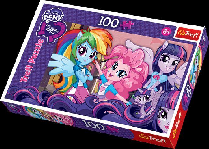 Puzzle Trefl,100pcs,Equestria girls