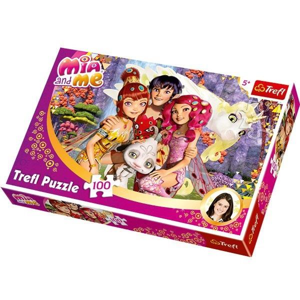 Puzzle Trefl,100pcs,Mia&Me