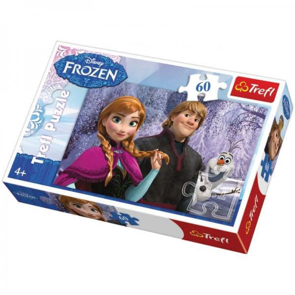 Puzzle Trefl,60pcs,Frozen