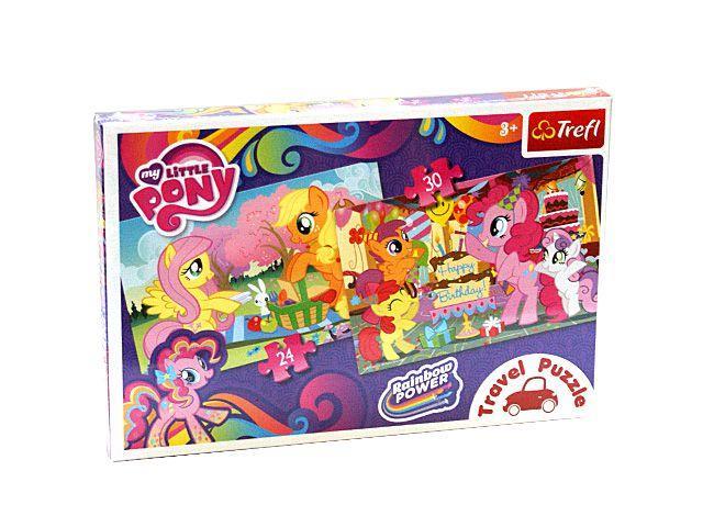 Puzzle Trefl,Travel 2in1,My Little Pony
