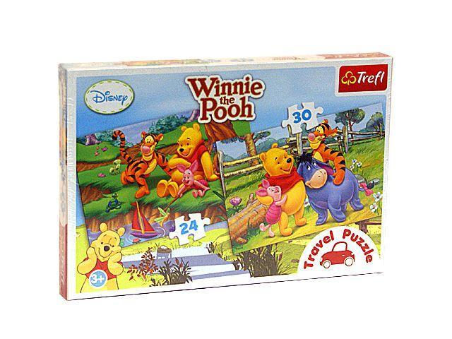 Puzzle Trefl,Travel 2in1,Winnie