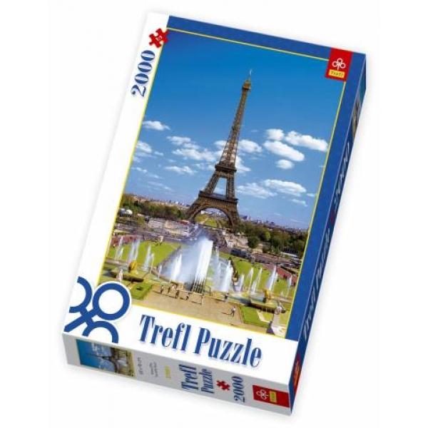 Puzzle Turnul Eiffel, 2000 pcs.