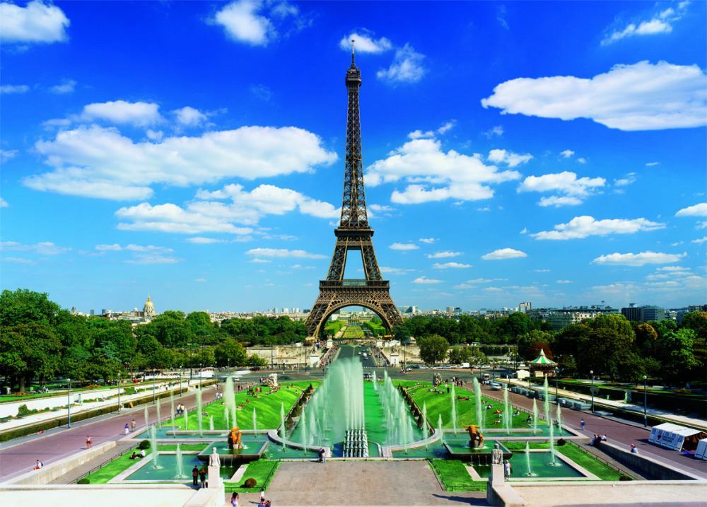 Puzzle Turnul Eiffel, 3000 pcs