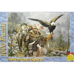 Puzzle US spirit Vanator si Vultur, 1000 piese