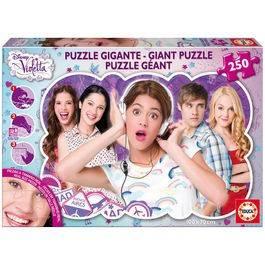 Puzzle Violeta gigant, 250 piese