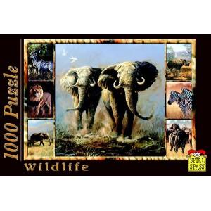 Puzzle Wildlife Elefant, 1000 piese