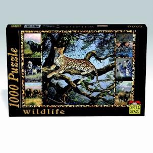 Puzzle Wildlife Leopard, 1000 piese