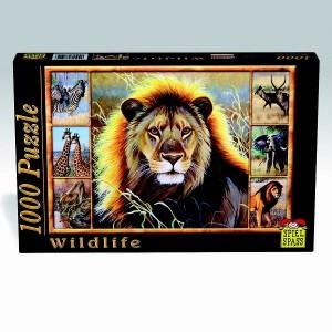 Puzzle Wildlife Leu, 1000 piese