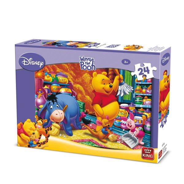 Puzzle Winnie, 24 pcs. (2 mod.asort.)