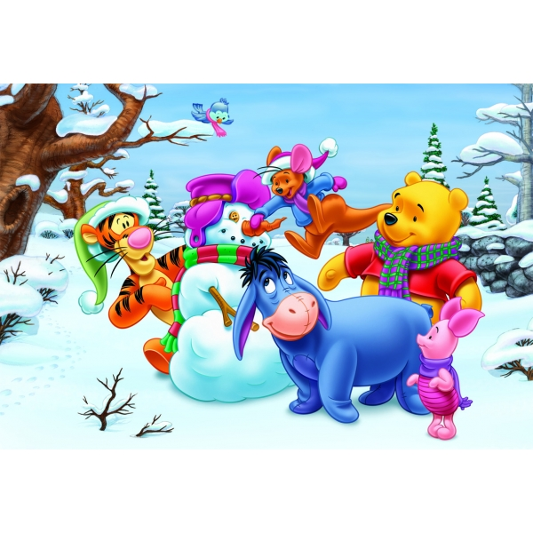 Puzzle Winnie the Pooh 2 in 1, 2 x 48 pcs.